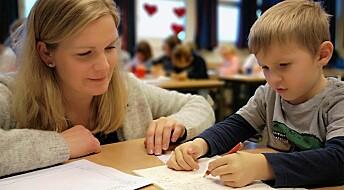Førsteklassinger knekker lesekoden med brevskriving