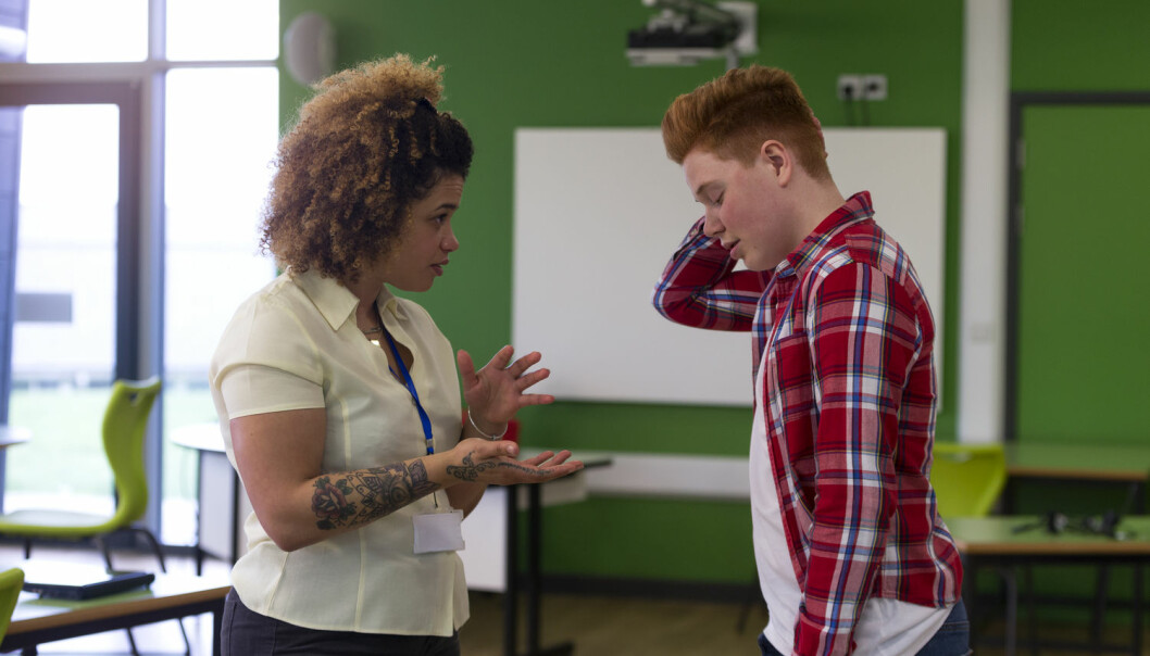 Elever med psykiske vansker kan være mer utfordrende for læreren. Kanskje er det nettopp derfor disse elevene opplever minst støtte fra lærerne sine. (Foto: Shutterstock / NTB scanpix)