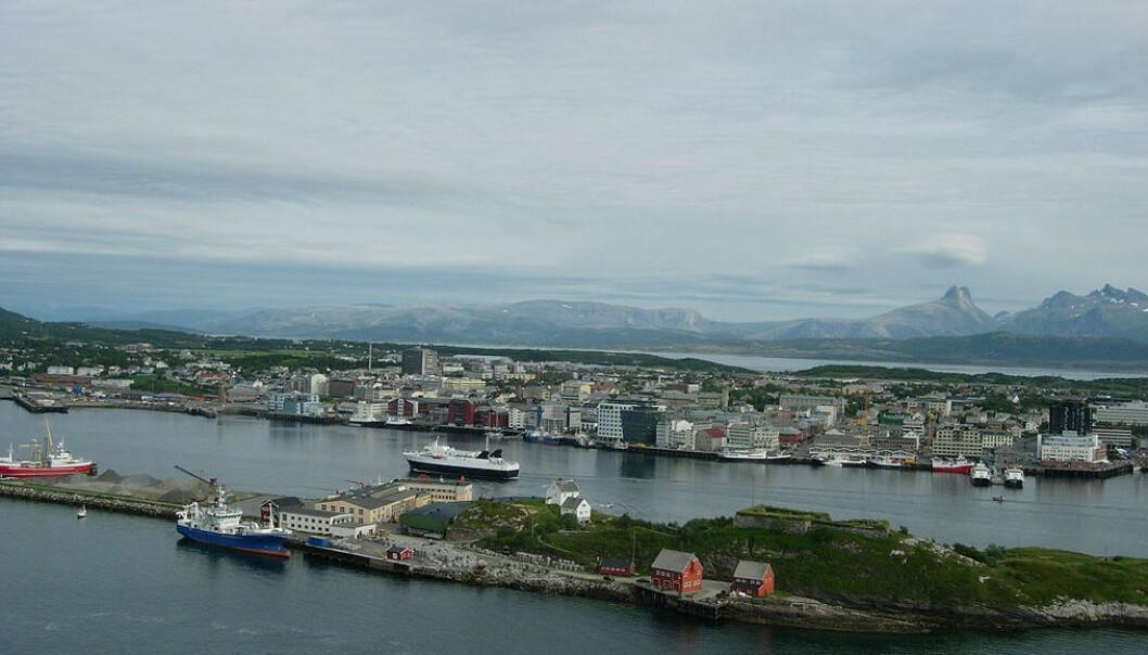Bodø skal bli en energieffektiv by i regi av et nytt forskningsprosjekt som kalles «elighthouse». (Foto: Wikimedia commons / CC BY-SA 2.5)