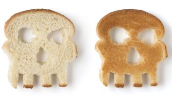Farlig fristelse: For mennesker med cøliaki gir helt vanlige brødskiver betennelse i tarmen.  (Foto: Chones / Shutterstock / NTB scanpix)