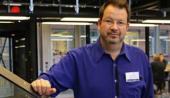 Sikkerhetsforsker Lothar Fritsch mener det er mye risiko også i Norge. Blant annet er han kritisk til publisering av skattelistene. (Foto: Gunhild M . Haugnes, UiO)