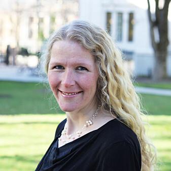 Førsteamanuensis Maria Astrup Hjort ved Universitetet i Oslo. (Foto: UiO)