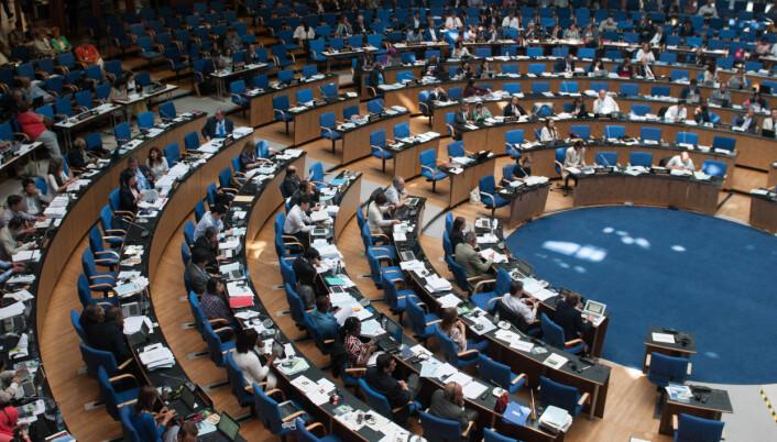 Verdensarvkomitémøte i Bonn i 2015 Foto: Olav Kosinsky, CC BY-SA 3.0 DE