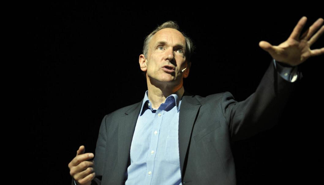 Tim Berners-Lee har vunnet en av de viktigste prisene innen datavitenskap. (Foto: REUTERS/Vincent West/NTB Scanpix)