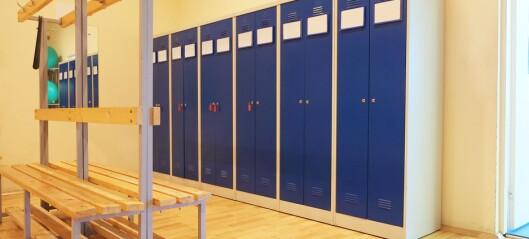 Gym-forskere: – Det bør være en lærer i garderoben
