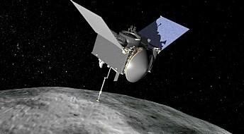 Snart framme: NASA-sonde skal hente asteroide-støv