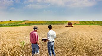Bønder tyr helst til hverandre for kunnskap