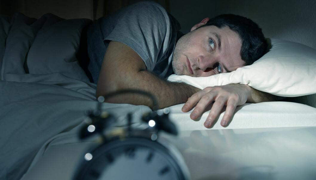 Det finnes mange forskjellige typer søvnvansker. Kanskje han har vendt klokken vekk for å slippe å se at timene går (Illustrasjonsbilde: Shutterstock/NTB Scanpix)