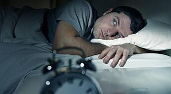 Søvnløshet kan gi høyere risiko for slag og hjertesykdom
