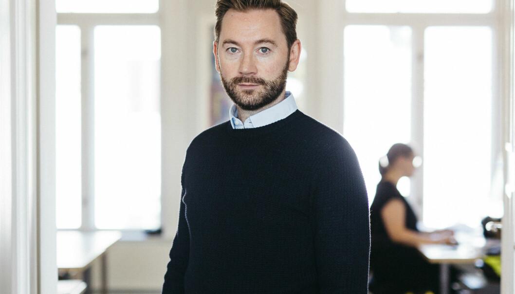 Kåre Borgan har tidligere jobbet som markedssjef i Norske arkitekters landsforbund.  (Foto: Tommy Ellingsen/NAL)