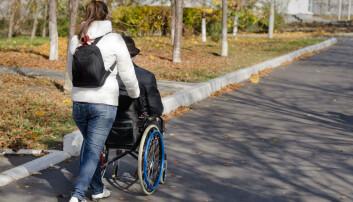 Pårørende fortjener et forståelig regelverk og rettigheter som de kan forvente at blir infridd, mener forsker.  (Illustrasjonsfoto:  NTB scanpix )