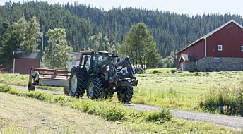 Vil gjøre det lettere for bønder å bytte jord