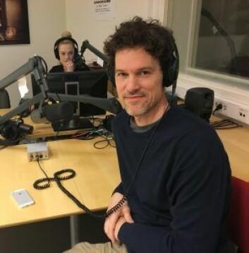 Filosof Anders Braarud Hanssen. (Foto: HiOA)