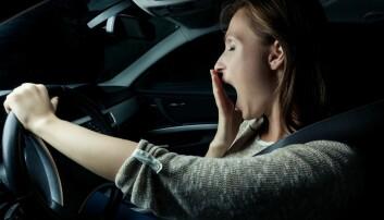 Skal du kjøre langt i påsken? Sørg for at den som sitter ved siden av deg holder seg våken. En stor andel av dem som har opplevd å sovne bak rattet har hatt med seg sovende passasjerer, viser forskning.  Shutterstock/NTB scanpix)