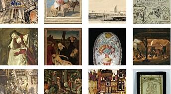 Arvinger av stjålet kunst fra krigen funnet ved hjelp av slektsgransking
