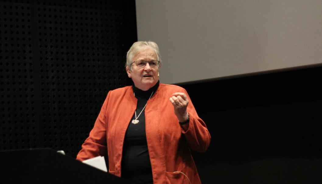 Krista Varantola var en del av arbeidsgruppen som reviderte EUs retningslinjer for god forskningsskikk. (Foto: Ingrid S. Torp)