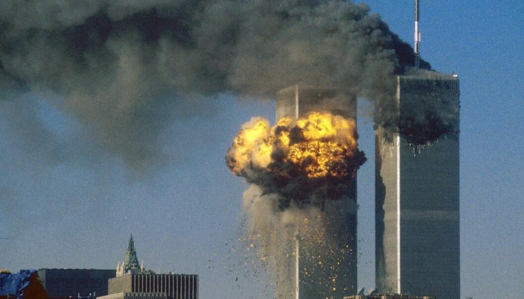 Ikke alle tror at flyangrepet i New York 11. september 2001 var et terrorangrep. En vanlig konspirasjonsteori er at amerikanske myndigheter sto bak. (Foto: Sean Adair/Reuters/NTB scanpix)