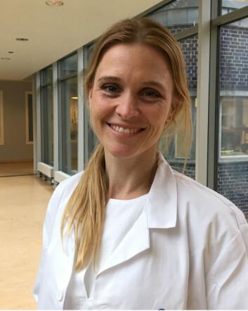 Bloggforfatter Marte Reigstad synes overgangen fra forskning til jobb som sykehuslege er stor. (Foto: Privat)