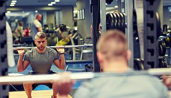 Menn som er hekta på muskler sliter med depresjon og slanking