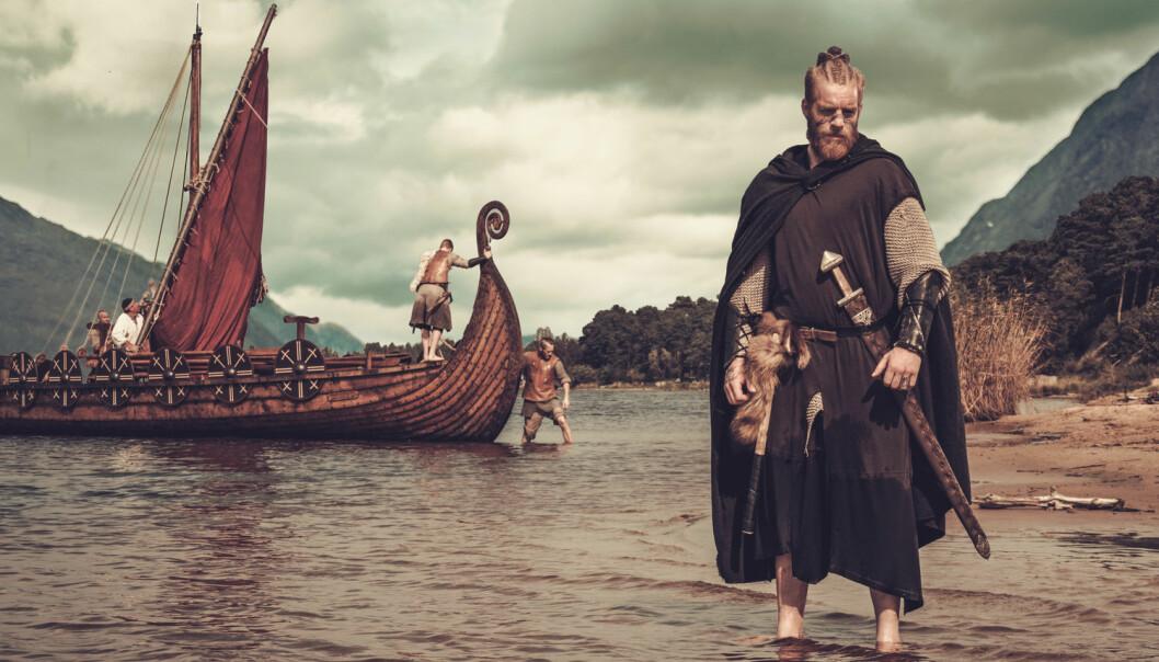 Hvilken hemmelighet gjemmer han på, den mektige vikingen? Hester? En båt? Treller? Familiemedlemmer? (Foto: Nejron Photo / Shutterstock / NTB scanpix)