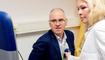 Hjerteflimmer: Kanskje kan en pustemaske bli redningen for Petter