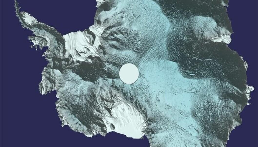 Vil vise hvor raskt Antarktis smelter
