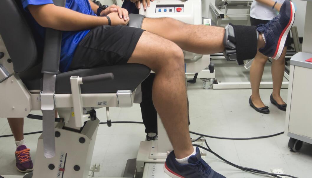Du behøver ikke bruke lang tid på styrketrening for å få effekt, bare den er hard nok, ifølge en skotsk studie. (Foto: Shutterstock)