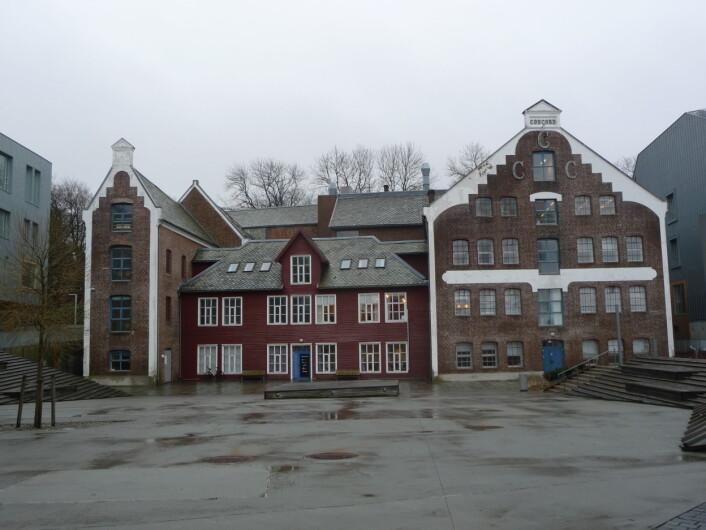 Fabrikken til Concord Canning I Stavanger. Firmaet hadde også fabrikker i Leikanger og Uskedal. Foto: MUST/ Norsk hermetikkmuseum