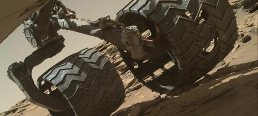 Hjulskader på Curiosity