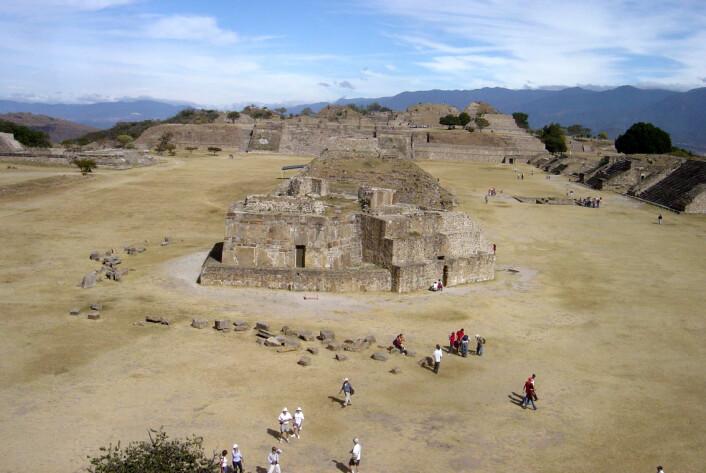 Monte Albán i mexico. (foto: Bobak Ha'Eri/CC BY 2.5)