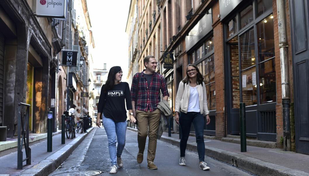 I 2016 dro 6900 norske studenter på utvekslingsopphold utenlands, en økning på sju prosent fra året før. Erasmus+ står for hele økningen.  (Illustrasjonsfoto: SIU)