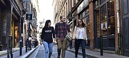 Norske studenter strømmer til Europa
