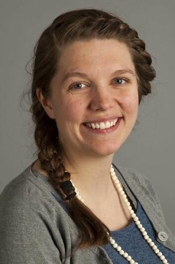 Lene Liebe Delset, doktorgradsstipendiat ved Naturhistorisk museum på Universitetet i Oslo. (Foto: Naturhistorisk museum)