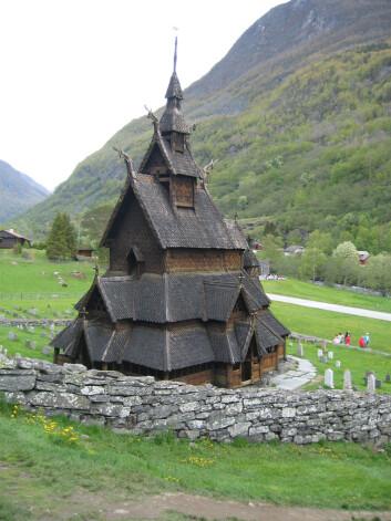 Borgund stavkirke Foto: NIKU