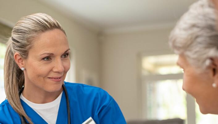 Forberedende samtaler mellom ansatte og pasienter gjorde livet bedre på sykehjemmet