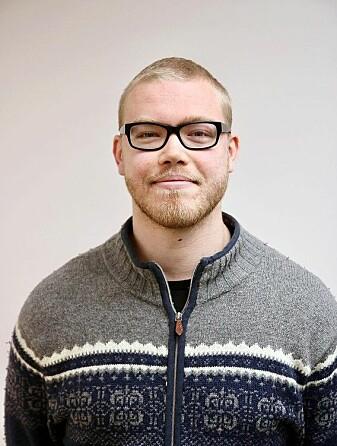 Anders Støle Fidje tar doktorgrad i matematikkdidaktikk – litt enkelt sagt «læren om hvordan man best underviser i matematikk». (Foto: Universitetet i Agder)
