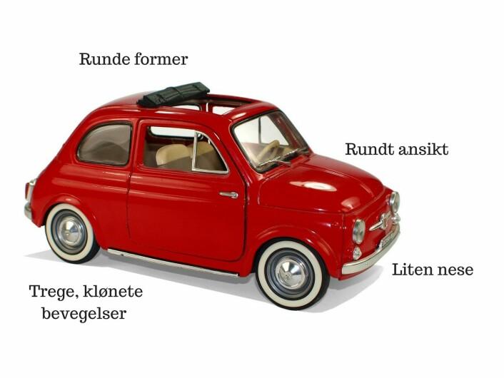 Søt Fiat! (Foto: CC0, via Pixabay (modifisert av EMG)