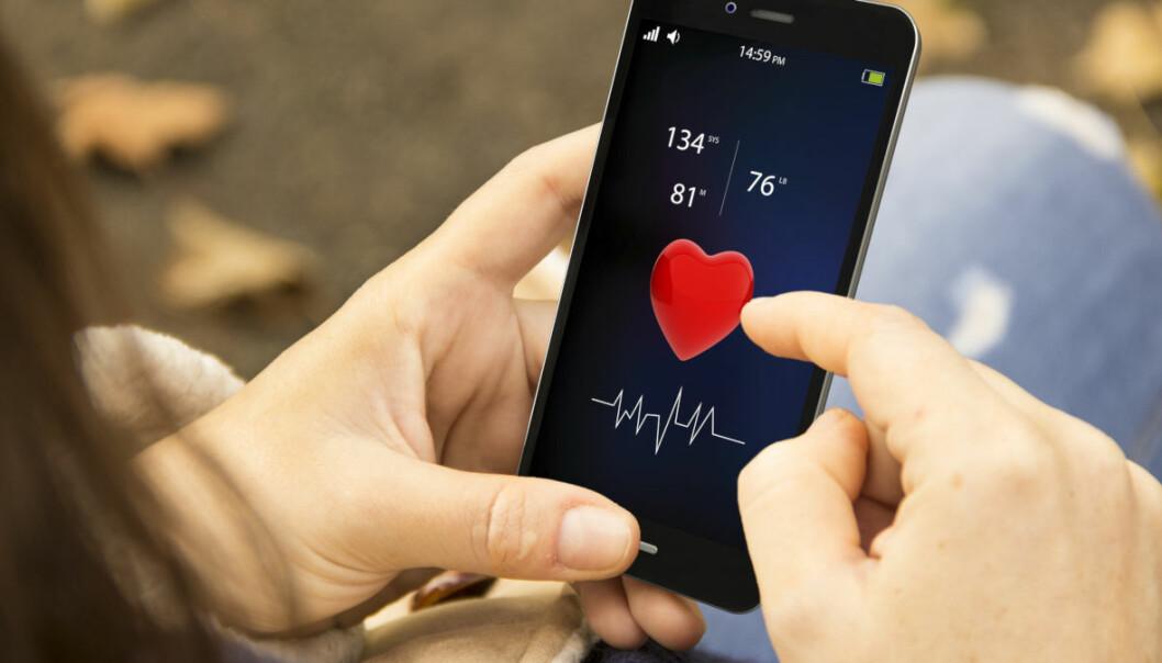 Forskere ønsker tilgang til brukerdata for å finne ut mer om effekten av mobil helseteknologi. (Illustrasjonsfoto: Georgejmclittle / Shutterstock / NTB scanpix)