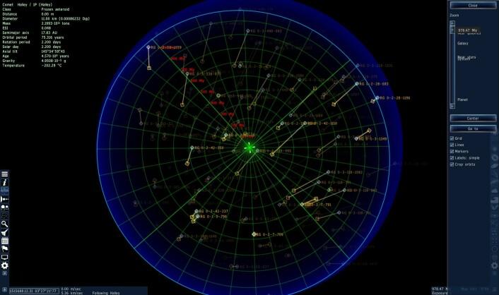 Og til slutt: Hele universet, gitt. (Foto: (Bilde: Space Engine/Skjermdump))