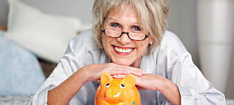 De minst rike eldre i Norge er også millionærer