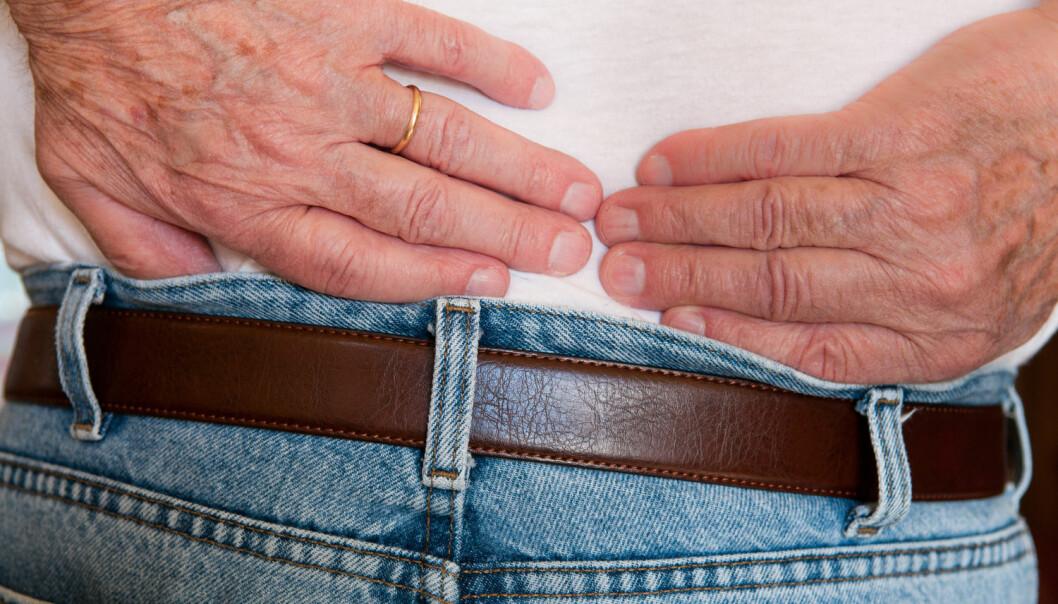 En ny studie viser at pasienter over 65 år som fikk gjennomført prolapskirurgi opplevde større bedring i korsryggsmerter. (Illustrasjonsfoto: Denise Lett / Shutterstock / NTB scanpix)
