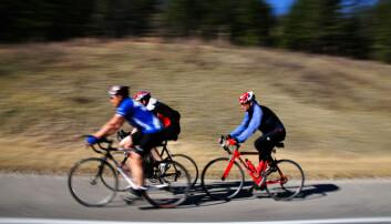 Forskere tok blodprøver fra syklister som deltok i Nordsjørittet. Prøvene viste at tre av deltakerne hadde tegn på skjult hjertesykdom.  (Illustrasjonsfoto: Colourbox)