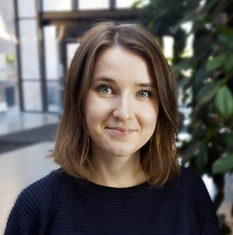 Førsteamanuensis Aleksandra Lazareva har forsket på online-kurs på Universitetet i Agder. (Foto: UiA)
