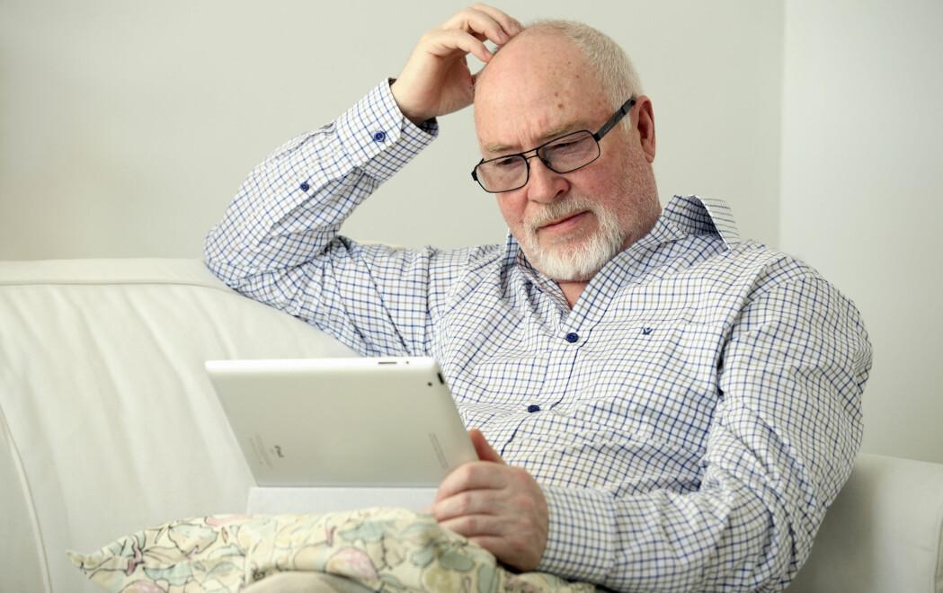 Norske forskere har nå forsøkt å finne ut hva folk vet om pensjonssystemet vårt og sin egen pensjon. De som kan regne med å få minst penger når de blir eldre, vet også minst om pensjon. (Illustrasjonsfoto: Barbro Wickström/Colourbox)