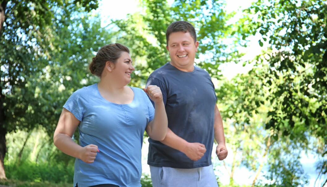 Det er mindre skadelig for kvinner å ha litt fett på kroppen enn det er for menn. (Foto: Shutterstock / NTB Scanpix)
