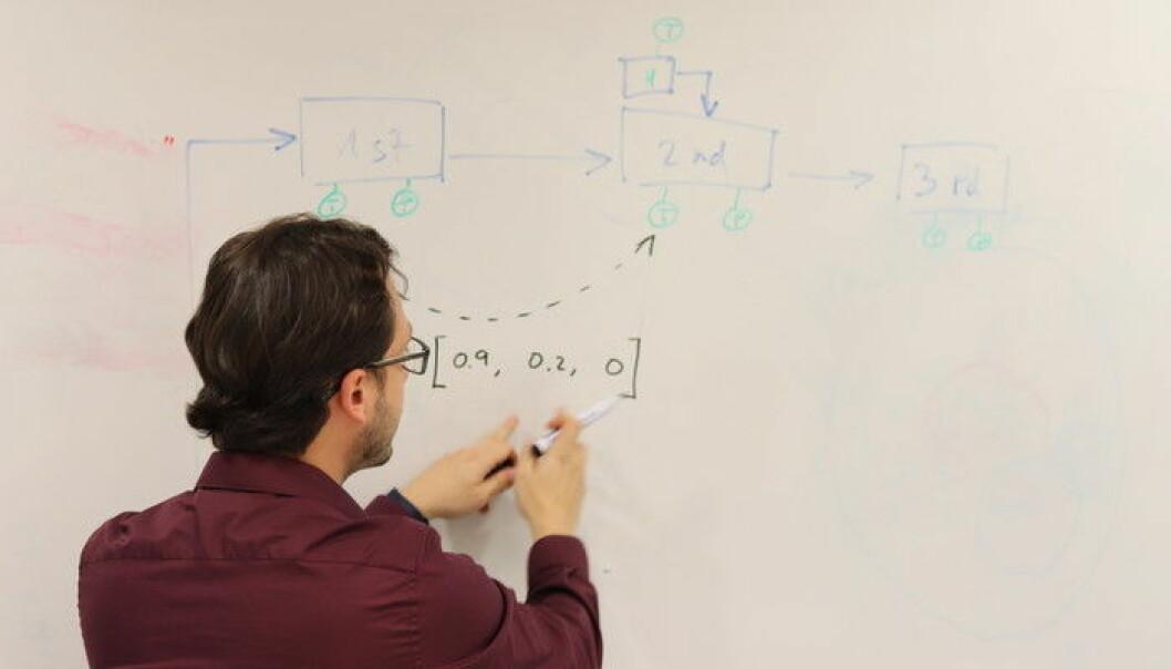 Postdoktor Luis Miguel López Ramos forskar ved SFI Offshore Mechatronics på Universitetet i Agder.