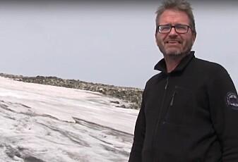 Den eldste isen her kan være fra steinalderen