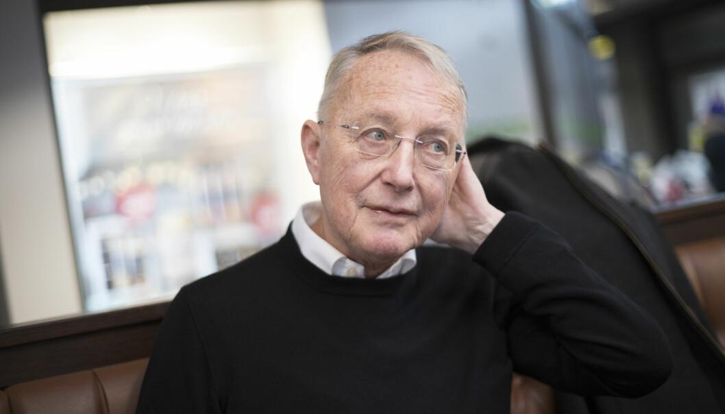 Professor Emeritus Knut Engedal får pris for sitt livslange arbeid på demensfeltet. (Foto: Anne Elisabeth Næss)