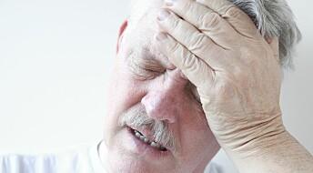 Kan svimmelhet varsle demens?