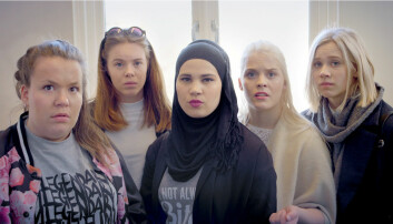 NRK-serien Skam har et bredere mangfold av karakterer enn tradisjonelt TV, ifølge postdoktor Gry Rustad. (Foto: NRK)